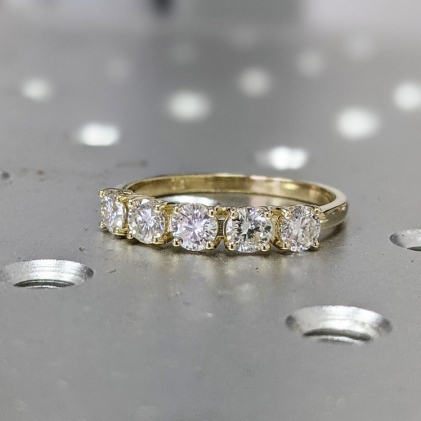 #1.5 #CT #Halo #Engagement #Ring #Round #Cut #14k #White #Gold #White #Gold #Diamond #Halo #Ring #Moissanite #Ring #Halo #Moissanite #Engagement #Ring